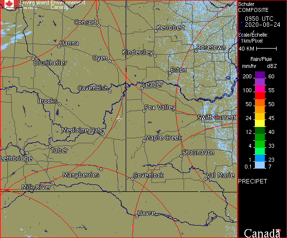 Weather Radar - Schuler, AB - Environment Canada